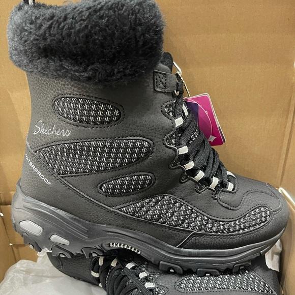 BNIB Skechers Bomb Cyclone Winter Boot Black sizes